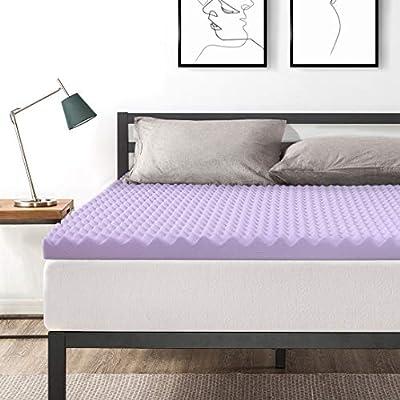 Best Price Mattress Short Queen 3 Inch Egg Crate Memory Foam Bed Topper
