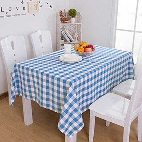 Nappe Checkered Nappe Tissu pique-nique Tissu Hôtel Nappe Nappe Café Hôtel restaurant Nappe rouge et café vert Lattice Place nappe (Couleur : B, taille : # 8)