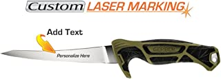 Custom Laser Engraved Gerber Controller 6 Inch Blade Fillet Knife System 31-003338