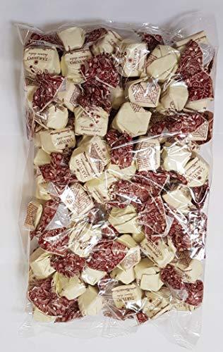 Tartufo dolce bianco | von Antica Torroneria Piemontese | Edle Trüffel-Praline aus Italien | Schokoladen-Trüffel mit weißer Schokolade | mit Piemont Haselnüssen | 1 kg Großpackung | Glutenfrei