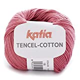 Lanas Katia Tencel-Cotton Ovillo de Color Coral Cod. 16