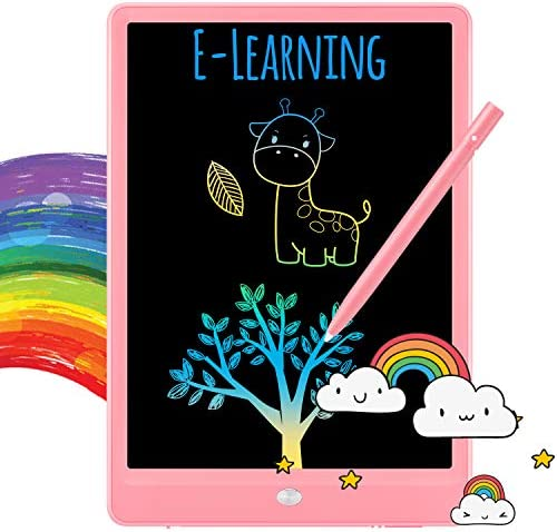 TEKFUN LCD Writing Tablet Doodle Board 10inch Colorful Drawing Tablet Writing Pad Girls Gifts product image