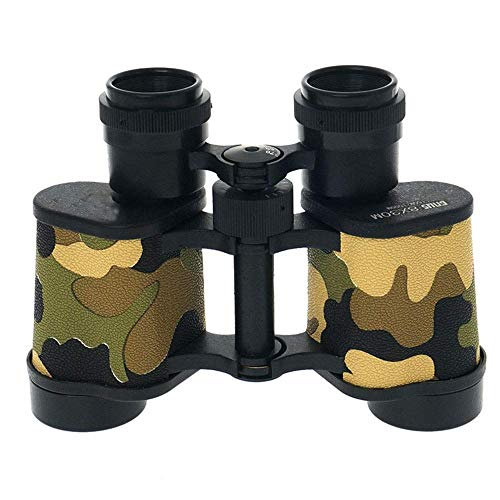 8x30 Verrekijker Low Light Level Night Vision telescoop for Jagen Vissen Hut/Draaggemak BKA4 Black camouflage kleur buitenshuis (Kleur: camouflage) ZHANGKANG (Color : Camouflage)