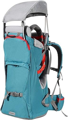 CHTOYS Porte-bébé de qualité supérieure pour randonnées avec Enfants - Porte-bébé de Camping avec Support et visière Pare-Soleil pour Enfant, Enfant