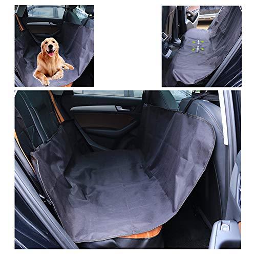 JKNMRL Hundesitzbezug, wasserdicht, Kratzfest und verschleißfest, einfache Installation und leicht zu reinigen für den Rücksitz des Autos