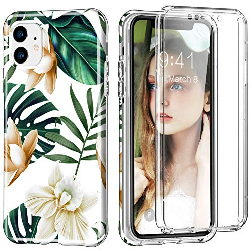 Coque iPhone 11 Case bling Etui Transparente Silicone Gel TPU Souple Silicone Ultra-Mince Transparente Protecteur Cover pour iPhone 11 (4)