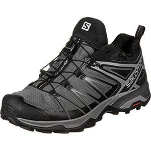 Salomon Men's X Ultra 3 GTX Hiking Shoes, Black/Magnet/Quiet Shade, 8.5
