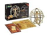Revell 00519Coffret Cadeau Maquette l'homme de Vitruve Leonard de Vinci 500ème Anniversaire en Bois, 519, 1:16