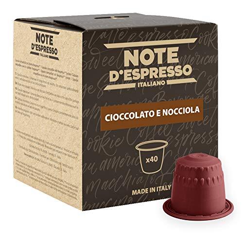 Note D'Espresso Preparato Solubile per Bevanda al Gusto di Cioccolato ed Nocciola in Capsule - 280 g (40 x 7 g)