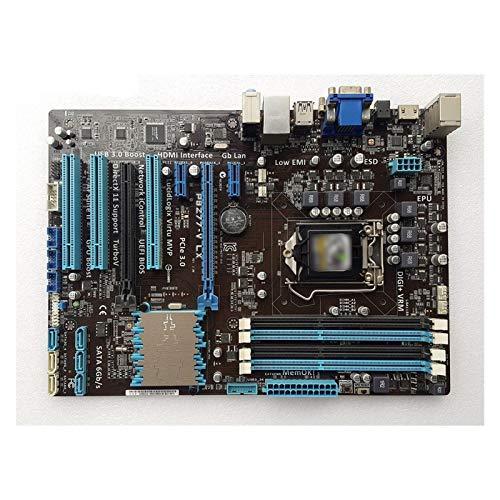 Tablero de reemplazo de computadora Placa Base ATX Para Juegos Apta Para Placa Base Fit For ASUS P8Z77-V LX LGA 1155 DDR3 I3 I5 22 / 32nm CPU USB3.0 32GB SATA3 VGA HDMI Z77 Placa Base De Escritorio Pl