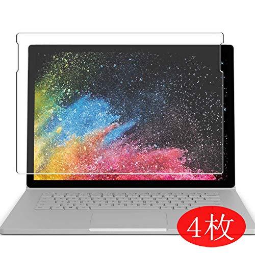 Vaxson 4 Stück Schutzfolie für Microsoft Surface Book 2 15