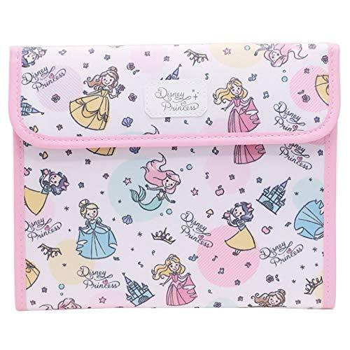 母子手帳ケース マルチケース ジャバラマルチケース ディズニー Disney キャラクター マルチポーチ フラットポーチ カード入れ カードポケット (プリンセス)