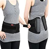 Ottobock The S.P.I.N.E. Adjustable Lower Back Brace with Pulley System - Lumbar Back Support Belt for Men and Women - Compression to Relieve Lower Back Pain & Spine Pressure, 2X-Large