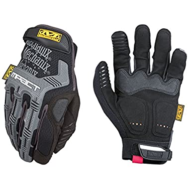 Mechanix Wear - M-Pact Gloves (Large, Black/Grey)