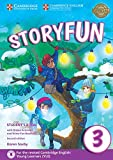 Storyfun for Starters, Movers and Flyers 3. Student's Book with online activities and Home Fun Booklet. 2nd Edition