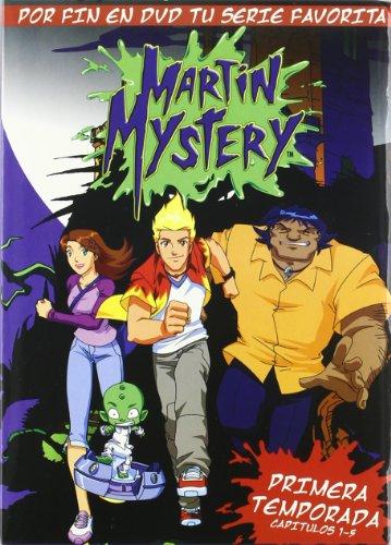 Martin Mystery (Cap. 1-5 1ª Temporada) [DVD]