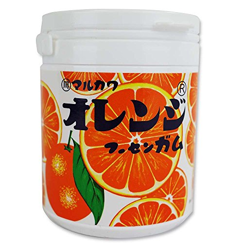 マルカワ オレンジ マーブルガム ボトル 130g(6個入)