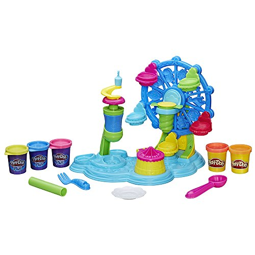 Play-Doh Hasbro B1855EU4 - Cupcake-Karussell, Knete
