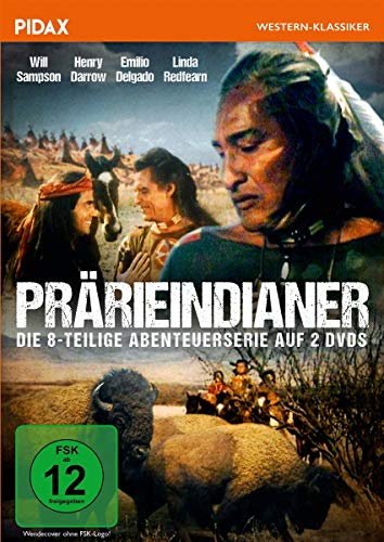 Prärieindianer / Die komplette 8-teilige Abenteuerserie (Pidax Western-Klassiker) [2 DVDs]