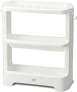 リスシャンプーボトルラックH&Hホワイト『防カビ加工』日本製
