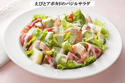 『キユーピー バジル&チーズドレッシング 1L (業務用)』の4枚目の画像