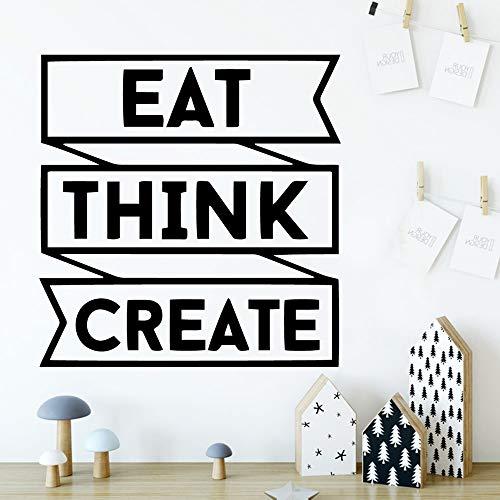 JXMK Nette Essen wollen Vinyl Tapetenrolle Möbel Dekoration Kindergarten Raumdekoration dekorative Wandbild 45x46,5cm erstellen