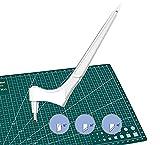 langjiao Craft Cutting Tools, utensili da taglio per taglio giroscopico,con lama rotante a 360 gradi(15°, 30°, 45°), utensile da taglio artistico per (B)