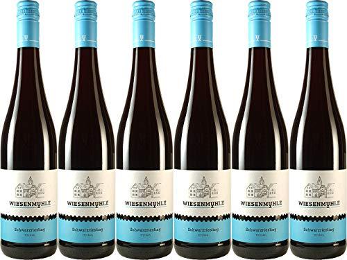Wein & Sekt Wiesenmühle Schwarzriesling QbA 2017 Trocken (6 x 0.75 l)