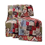 Greenland Home Rustic Lodge Throw Blanket