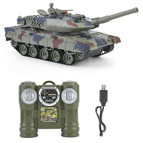 VGEBY1 Los Tanques teledirigidos, los Tanques de Batalla de RC Que luchan simularon el Juguete Modelo Militar(#2)