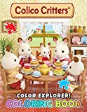 Color Explorer! - Calico Critters Coloring Book: Suitable For All Ages, Kids, Boys, Girls, Adults, Lovely, indoor