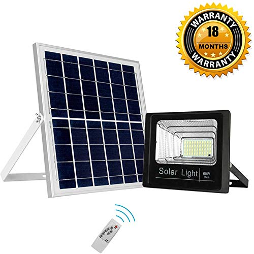 Solar Flood Lights with Motion Sensor and...