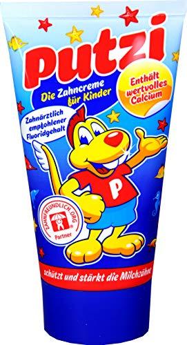 Putzi Calcium Zahncreme 50ml, 6er Pack (6x 50ml)
