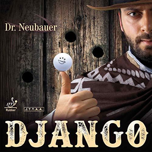 DR. NEUBAUER Belag Django (Anti-Spin) Optionen 1,8 mm, schwarz