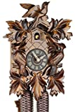 Original Schwarzwälder Kuckucksuhr aus Echtholz, mechanisches 8-Tage Laufwerk und VDS Zertifikat - Angebot von Uhren-Park Eble - Eble -Dreivogel 28cm- 28-06-12-80