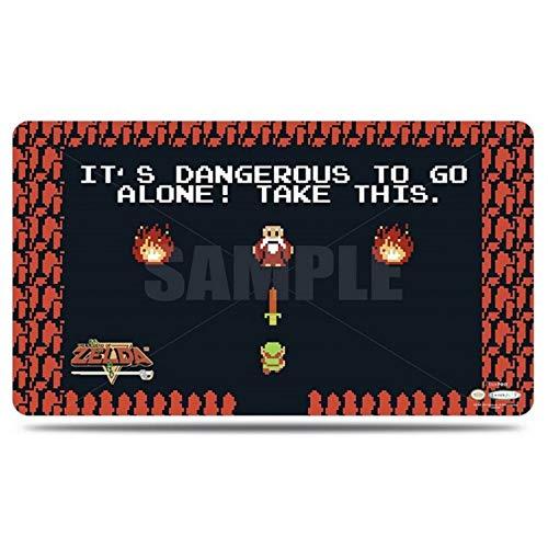 Ultra Pro Spielmatte - The Legend of Zelda: Dangerous (Playmat with Tube)