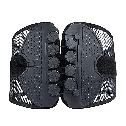 Alivio del Dolor en la Parte Baja de la Espalda con Sistema de Polea - Cinturón de Soporte para la Espalda para Adultos Unisex Abrazadera (L)