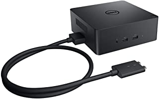 New Genuine DS for Dell Precision Dual USB-C Thunderbolt Dock with 240W AC Adapter TB18DC (Renewed)