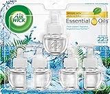 Airwick Air Freshener, Scented Oil, Fresh Waters, 5 Refills