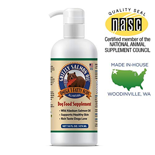 Grizzly Wild Alaskan Salmon Oil Dog Food...