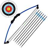 "kaimei 35"" Junior Compound Bow and Arrow Archery Set Outdoor Sports Game Hunting"