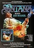 Santana - Greatest Classics, 2010 » Konzertplakat/Premium
