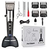 Best Dog Clippers Wirelesses - Lu&Ba Dog Shaver Clippers, Low Noise Pet Clippers Review