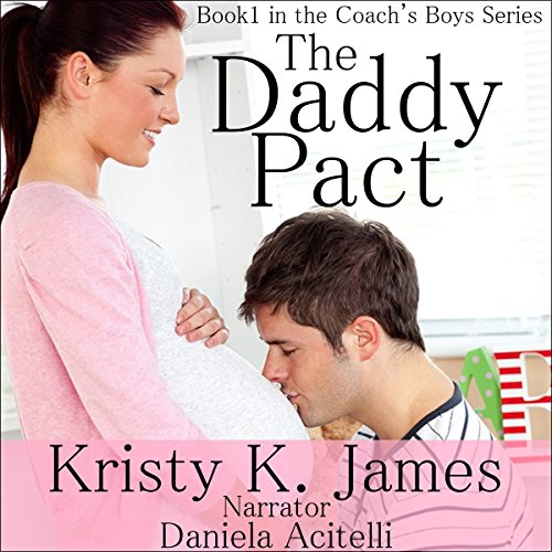 The Daddy Pact audiobook cover art