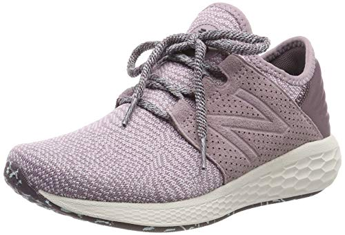 New Balance Damen Fresh Foam Cruz v2 Silent Rave Pack Sneaker, Pink (Light Cashmere/Cashmere/Light Reef Dp2), 43 EU
