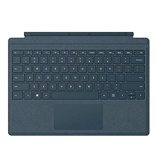 Microsoft Surface Pro Signature Type Cover Keyboard, LED Backlight Keyboard Blu/Cobalto