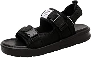 Mens Sandals,Thick Bottom Soft Slippers for Men,AopnHQ-Men's Loafers Men's Open Toe Sandal for the Outdoors