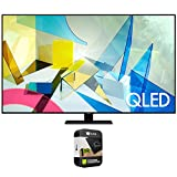 Samsung QN75Q80TAFXZA 75 inch Class Q80T QLED 4K UHD HDR Smart TV 2020 Bundle with Premium 1 Year Extended Protection Plan
