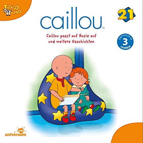 Caillou passt auf Rosie auf Titelbild
