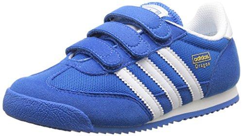 adidas Unisex Baby Dragon Lauflernschuhe, Blau (Bluebird/Running White FTW/Running White FTW), 28 EU
